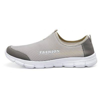 Unisex Breathable Mesh Casual Sports ShoesCasual Shoes<br>Unisex Breathable Mesh Casual Sports Shoes<br><br>Contents: 1 x Pair of Shoes, 1 x Box, 1 x Dust-proof Paper<br>Materials: Air Mesh, MD<br>Package Size ( L x W x H ): 33.00 x 24.00 x 13.00 cm / 12.99 x 9.45 x 5.12 inches<br>Package weight: 0.6000 kg<br>Product weight: 0.4000 kg<br>Seasons: Spring,Summer<br>Style: Leisure, Comfortable, Casual<br>Type: Casual Shoes