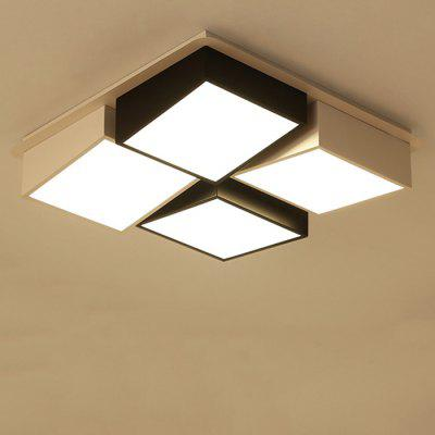 7049 Modern Geometric Shape Acrylic LED Ceiling LightFlush Ceiling Lights<br>7049 Modern Geometric Shape Acrylic LED Ceiling Light<br><br>Color Temperature or Wavelength: Cool white: 6000 - 6500k, warm white: 3000 - 3500k, natural light: 3500 - 4500k<br>Features: Eye Protection<br>Package Contents: 1 x Ceiling Light, 1 x Mounting Kit Accessory, 1 x English Manual, 1 x Remote Control<br>Package size (L x W x H): 65.00 x 65.00 x 21.00 cm / 25.59 x 25.59 x 8.27 inches<br>Package weight: 6.2000 kg<br>Product size (L x W x H): 55.00 x 55.00 x 13.00 cm / 21.65 x 21.65 x 5.12 inches<br>Product weight: 5.7000 kg<br>Shade Material: Iron, Acrylic<br>Style: Artistic Style, LED, Modern/Contemporary<br>Suggested Room Size: 10 - 15?<br>Suggested Space Fit: Bedroom,Cafes,Dining Room,Kids Room,Living Room,Office<br>Type: Ceiling Light