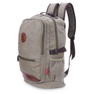 Waterproof Retro Daily Backpack for MenBackpacks<br>Waterproof Retro Daily Backpack for Men<br><br>Features: Water Resistance<br>For: Camping, Cycling, Traveling<br>Material: Canvas<br>Package Contents: 1 x Backpack<br>Package size (L x W x H): 48.00 x 5.00 x 18.00 cm / 18.9 x 1.97 x 7.09 inches<br>Package weight: 0.8350 kg<br>Product size (L x W x H): 48.00 x 30.00 x 18.00 cm / 18.9 x 11.81 x 7.09 inches<br>Product weight: 0.8250 kg<br>Strap Length: 55 - 80cm<br>Type: Backpack