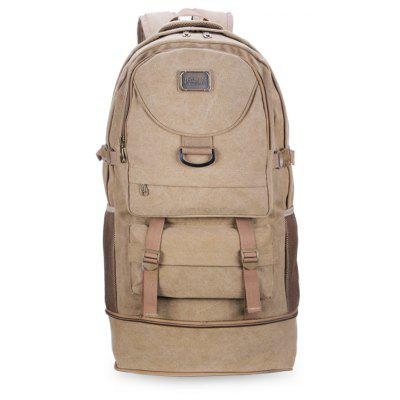 Vintage Durable Men BackpackBackpacks<br>Vintage Durable Men Backpack<br><br>Features: Water Resistance<br>For: Camping, Climbing, Cycling, Hiking, Traveling<br>Material: Canvas<br>Package Contents: 1 x Backpack<br>Package size (L x W x H): 68.00 x 5.00 x 22.00 cm / 26.77 x 1.97 x 8.66 inches<br>Package weight: 1.2100 kg<br>Product size (L x W x H): 68.00 x 34.00 x 22.00 cm / 26.77 x 13.39 x 8.66 inches<br>Product weight: 1.2000 kg<br>Strap Length: 55 - 100cm<br>Type: Backpack