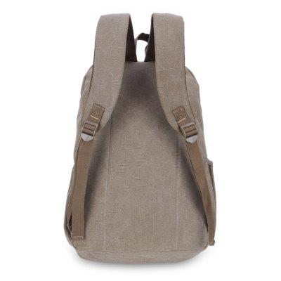 Vintage Water Resistant Men BackpackBackpacks<br>Vintage Water Resistant Men Backpack<br><br>Features: Water Resistance<br>For: Camping, Climbing, Cycling, Hiking, Traveling<br>Material: Canvas<br>Package Contents: 1 x Backpack<br>Package size (L x W x H): 42.00 x 5.00 x 18.00 cm / 16.54 x 1.97 x 7.09 inches<br>Package weight: 0.6400 kg<br>Product size (L x W x H): 42.00 x 30.00 x 18.00 cm / 16.54 x 11.81 x 7.09 inches<br>Product weight: 0.6300 kg<br>Strap Length: 55 - 80cm<br>Type: Backpack