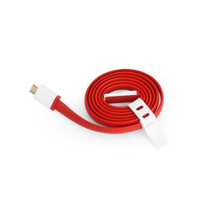 Original OnePlus Micro USB Charging CableChargers &amp; Cables<br>Original OnePlus Micro USB Charging Cable<br><br>Accessories type: Cable<br>Brand: ONEPLUS<br>Cable Length (cm): 80cm<br>Interface Type: Micro USB<br>Material ( Cable&amp;Adapter): TPE, Aluminum Alloy<br>Package Contents: 1 x Cable<br>Package size (L x W x H): 11.00 x 4.00 x 2.00 cm / 4.33 x 1.57 x 0.79 inches<br>Package weight: 0.0300 kg<br>Product Size(L x W x H): 80.00 x 2.00 x 0.80 cm / 31.5 x 0.79 x 0.31 inches<br>Product weight: 0.0240 kg<br>Type: Cable
