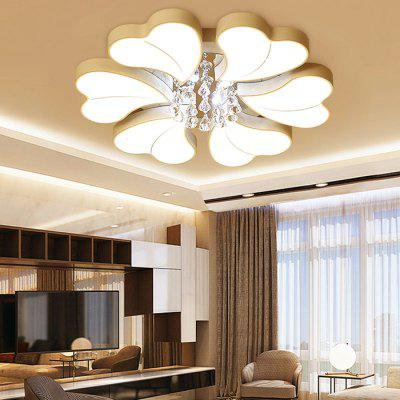 6932 Modern Heart Shape Crystal LED Ceiling LightFlush Ceiling Lights<br>6932 Modern Heart Shape Crystal LED Ceiling Light<br><br>Color Temperature or Wavelength: Cool white: 6000 - 6500k, warm white: 3000 - 3500k, natural light: 3500 - 4500k<br>Features: Crystal, Eye Protection<br>Package Contents: 1 x Ceiling Light, 1 x Mounting Kit Accessory, 1 x English Manual<br>Package size (L x W x H): 97.00 x 97.00 x 17.00 cm / 38.19 x 38.19 x 6.69 inches<br>Package weight: 12.5000 kg<br>Product size (L x W x H): 87.00 x 87.00 x 20.00 cm / 34.25 x 34.25 x 7.87 inches<br>Product weight: 11.8000 kg<br>Shade Material: Crystal, Iron, Acrylic<br>Style: Modern/Contemporary, LED, Artistic Style<br>Suggested Room Size: 20 - 30?<br>Suggested Space Fit: Bedroom,Cafes,Living Room,Office<br>Type: Ceiling Light