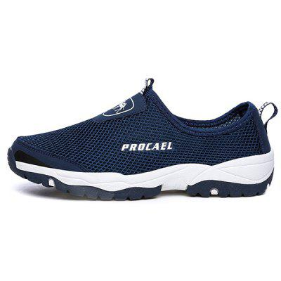 Outdoor Leisure Breathable Anti-slip Sports ShoesCasual Shoes<br>Outdoor Leisure Breathable Anti-slip Sports Shoes<br><br>Closure Type: Slip-On<br>Contents: 1 x Pair of Shoes, 1 x Box<br>Function: Slip Resistant<br>Materials: Suede, MD, Rubber<br>Occasion: Shopping, Sports, Riding, Holiday, Daily, Casual<br>Outsole Material: MD,Rubber<br>Package Size ( L x W x H ): 33.00 x 24.00 x 13.00 cm / 12.99 x 9.45 x 5.12 inches<br>Package weight: 0.7000 kg<br>Product weight: 0.5000 kg<br>Seasons: Summer<br>Style: Fashion, Comfortable, Casual<br>Toe Shape: Round Toe<br>Type: Sports Shoes<br>Upper Material: Suede