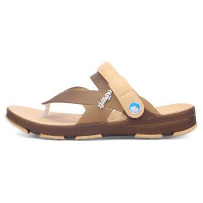 Men Anti-slip Breathable Outdoor Beach Jelly SandalsMens Sandals<br>Men Anti-slip Breathable Outdoor Beach Jelly Sandals<br><br>Contents: 1 x Pair of Sandals<br>Materials: EVA, TPU<br>Occasion: Daily, Casual, Beach<br>Outsole Material: EVA<br>Package Size ( L x W x H ): 28.00 x 16.00 x 8.00 cm / 11.02 x 6.3 x 3.15 inches<br>Package weight: 0.3800 kg<br>Product weight: 0.3800 kg<br>Seasons: Summer<br>Style: Leisure, Fashion, Comfortable, Casual<br>Type: Sandals<br>Upper Material: TPU