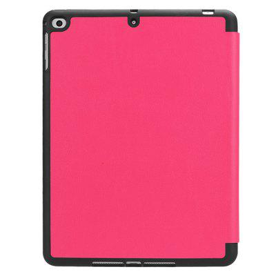 Stand Design Protective Case with Pen Slot for iPad 2018Tablet Accessories<br>Stand Design Protective Case with Pen Slot for iPad 2018<br><br>Features: Anti-knock, Cases with Stand, Dirt-resistant<br>Material: TPU<br>Package Contents: 1 x Case<br>Package size (L x W x H): 26.20 x 20.50 x 2.45 cm / 10.31 x 8.07 x 0.96 inches<br>Package weight: 0.4500 kg<br>Product size (L x W x H): 24.20 x 18.50 x 1.45 cm / 9.53 x 7.28 x 0.57 inches<br>Product weight: 0.4000 kg