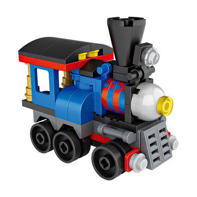 LOZ Building Blocks Mini Train Model Intelligence Toy GiftBlock Toys<br>LOZ Building Blocks Mini Train Model Intelligence Toy Gift<br><br>Brand: LOZ<br>Gender: Unisex<br>Materials: ABS<br>Package Contents: 1 x Set of Puzzle Toys, 1 x Graphic Illustration<br>Package size: 6.50 x 6.50 x 8.50 cm / 2.56 x 2.56 x 3.35 inches<br>Package weight: 0.0450 kg<br>Product size: 5.50 x 3.00 x 5.00 cm / 2.17 x 1.18 x 1.97 inches<br>Product weight: 0.0250 kg<br>Suitable Age: Kid<br>Theme: Vehicle<br>Type: Kids Building