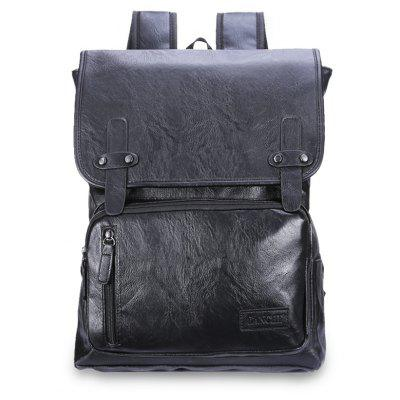 Daily Durable Business Backpack for MenBackpacks<br>Daily Durable Business Backpack for Men<br><br>Features: Water Resistance<br>For: Traveling<br>Material: PU Leather<br>Package Contents: 1 x Backpack<br>Package size (L x W x H): 32.00 x 5.00 x 44.00 cm / 12.6 x 1.97 x 17.32 inches<br>Package weight: 0.6500 kg<br>Product size (L x W x H): 32.00 x 15.00 x 44.00 cm / 12.6 x 5.91 x 17.32 inches<br>Product weight: 0.6400 kg<br>Strap Length: 50 - 80cm<br>Type: Backpack