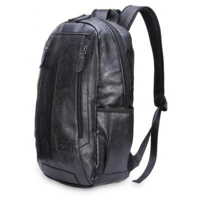 Water Resistant Vintage Durable Backpack for MenBackpacks<br>Water Resistant Vintage Durable Backpack for Men<br><br>Features: Water Resistance<br>For: Hiking, Traveling<br>Material: PU Leather<br>Package Contents: 1 x Backpack<br>Package size (L x W x H): 34.00 x 5.00 x 44.00 cm / 13.39 x 1.97 x 17.32 inches<br>Package weight: 0.6300 kg<br>Product size (L x W x H): 34.00 x 11.00 x 44.00 cm / 13.39 x 4.33 x 17.32 inches<br>Product weight: 0.6200 kg<br>Strap Length: 50 - 80cm<br>Type: Backpack