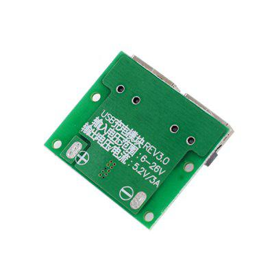 Dual Socket Voltage Stabilized Charging ModuleOther Accessories<br>Dual Socket Voltage Stabilized Charging Module<br><br>Package Contents: 1 x Module<br>Package Size(L x W x H): 5.00 x 7.00 x 1.00 cm / 1.97 x 2.76 x 0.39 inches<br>Package weight: 0.0700 kg<br>Product Size(L x W x H): 2.80 x 3.30 x 0.80 cm / 1.1 x 1.3 x 0.31 inches<br>Product weight: 0.0550 kg