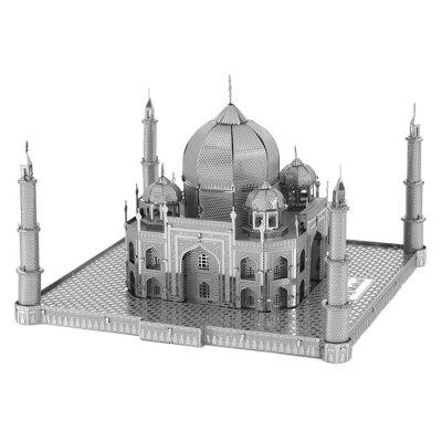 3D Metal Taj Mahal Jigsaw Puzzle Model ToyBlock Toys<br>3D Metal Taj Mahal Jigsaw Puzzle Model Toy<br><br>Gender: Unisex<br>Package Contents: 1 x Metal Plate, 1 x Manual ( Pure Graphic, Used Universal, No Chinese or English )<br>Package size: 24.00 x 12.00 x 0.30 cm / 9.45 x 4.72 x 0.12 inches<br>Package weight: 0.0750 kg<br>Product size: 9.00 x 9.00 x 6.30 cm / 3.54 x 3.54 x 2.48 inches<br>Product weight: 0.0450 kg<br>Suitable Age: Kid<br>Theme: Buildings<br>Type: Kids Building