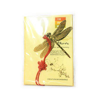 Creative Dragonfly Shape Gold-plating Bookmark for Book / MagazineCrafts<br>Creative Dragonfly Shape Gold-plating Bookmark for Book / Magazine<br><br>Materials: Brass<br>Package Contents: 1 x Bookmark<br>Package Size(L x W x H): 6.50 x 6.84 x 0.30 cm / 2.56 x 2.69 x 0.12 inches<br>Package weight: 0.0120 kg<br>Product Size(L x W x H): 5.20 x 6.30 x 0.10 cm / 2.05 x 2.48 x 0.04 inches<br>Product weight: 0.0100 kg