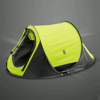 Xiaomi Automatic Instant Pop up Waterproof TentTent<br>Xiaomi Automatic Instant Pop up Waterproof Tent<br><br>Brand: Xiaomi<br>Package Content: 1 x Tent, 1 x Outer Bag, 8 x Nail, 4 x Wind Rope<br>Package size: 86.00 x 86.00 x 6.00 cm / 33.86 x 33.86 x 2.36 inches<br>Package weight: 2.9100 kg<br>Product weight: 2.8000 kg