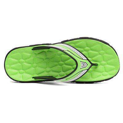 Trendy Lightweight Anti-slip Flip-flops SlippersMens Slippers<br>Trendy Lightweight Anti-slip Flip-flops Slippers<br><br>Contents: 1 x Pair of Shoes<br>Function: Slip Resistant<br>Materials: PVC, EVA<br>Occasion: Shopping, Holiday, Daily, Casual, Beach<br>Outsole Material: EVA<br>Package Size ( L x W x H ): 24.00 x 14.00 x 8.00 cm / 9.45 x 5.51 x 3.15 inches<br>Package weight: 0.4000 kg<br>Product weight: 4.0000 kg<br>Seasons: Spring,Summer<br>Style: Fashion, Comfortable, Casual<br>Type: Slippers<br>Upper Material: PVC