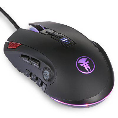 M109 USB Wired Gaming Mouse with RGB BacklightMouse<br>M109 USB Wired Gaming Mouse with RGB Backlight<br><br>Backlight Type: RGB Light<br>Cable Length (m): 1.7m<br>Coding Supported: Yes<br>Connection: Wired<br>Connection Type: USB Wired<br>DPI Adjustment: Not Support<br>Interface: USB 2.0<br>Material: ABS<br>Mouse Macro Express Supported: Yes<br>Package Contents: 1 x Mouse<br>Package size (L x W x H): 14.30 x 9.80 x 5.20 cm / 5.63 x 3.86 x 2.05 inches<br>Package weight: 0.1911 kg<br>Power Supply: USB Port<br>Product size (L x W x H): 12.40 x 7.90 x 4.35 cm / 4.88 x 3.11 x 1.71 inches<br>Product weight: 0.1475 kg<br>Resolution: 5000DPI<br>Type: Mouse<br>Usage: Gaming