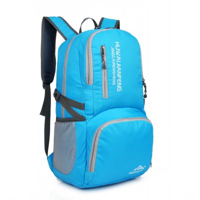 Foldable Wear-resistant Backpack for MenBackpacks<br>Foldable Wear-resistant Backpack for Men<br><br>Features: Water Resistance, Foldable<br>For: Cycling, Hiking, Traveling<br>Material: Nylon<br>Package Contents: 1 x Backpack<br>Package size (L x W x H): 29.00 x 5.00 x 47.00 cm / 11.42 x 1.97 x 18.5 inches<br>Package weight: 0.3100 kg<br>Product size (L x W x H): 29.00 x 16.00 x 47.00 cm / 11.42 x 6.3 x 18.5 inches<br>Product weight: 0.3000 kg<br>Strap Length: 50 - 80cm<br>Type: Backpack