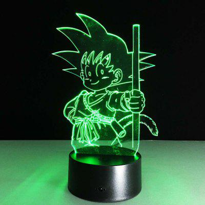 7 Color Change Animation Figure Style Model Toy
