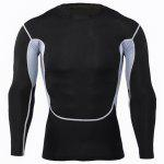 cheap Mesh Splicing Fitness T-shirt