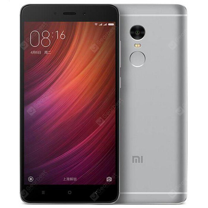 Xiaomi Redmi Note 4X 4G Phablet MIUI 9 5.5 inch Snapdragon 625 Octa Core 2.0GHz 3GB RAM 16GB ROM Fingerprint Scanner 5.0MP + 13.0MP Cameras 26May