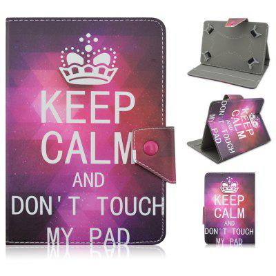Dont Touch My Pad Protective Case for 7.0 - 8.0 inch Tablet PC
