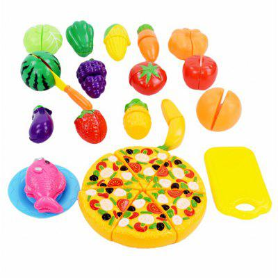 Play House Fruit Vegetable Pizza