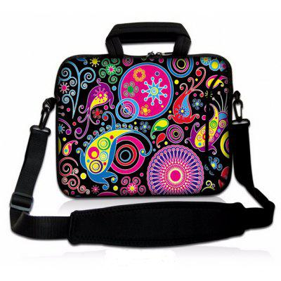 14 inch Rubber Leisure Sling Bag Handbag for Notebook