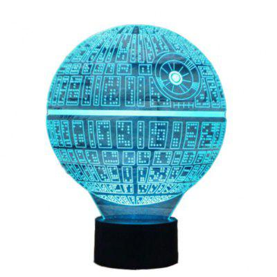 LED 5W Novelty 3D Light Decoration Lamp