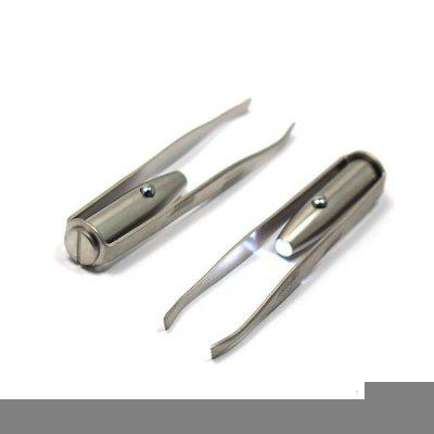 LED Light Eyebrow Hair Removal Tweezer от GearBest.com INT