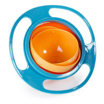 Creative Baby Feeding Bowl 360 Degree Rotatable Funny Toy Non-spill Universal Gyroscope UFO Dish