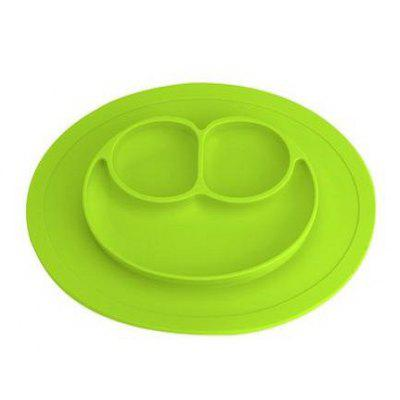 Silicone Non-slip Kids Plate Tray with 3 Compartments
