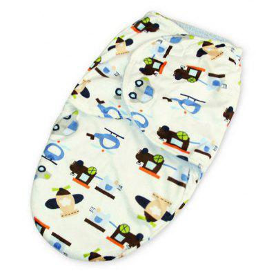Cartoon Plush Baby Swaddle