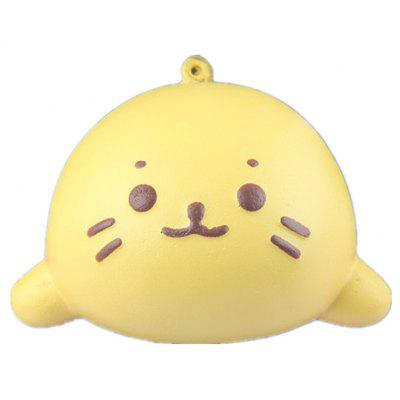 Cute Cartoon Seal Bread PU Foam Squishy Toy
