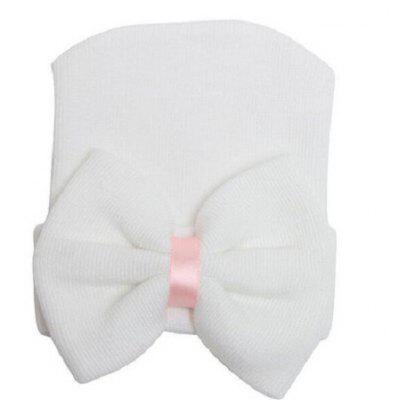 Big Bow Baby Infant Hat Cap