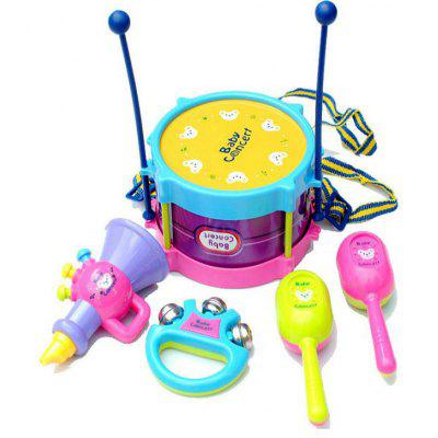 5PCS Kids Roll Drum Musical Instruments