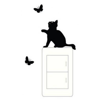 Cat Switch Sticker