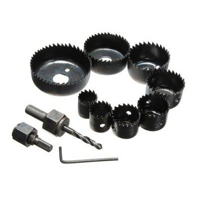11PCS 25mm Carbon Steel Hole Saw Cutting Tools