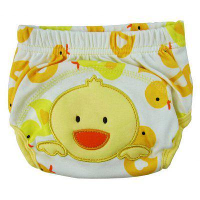 Baby Cartoon Style Diaper Cotton Training Pants Cover