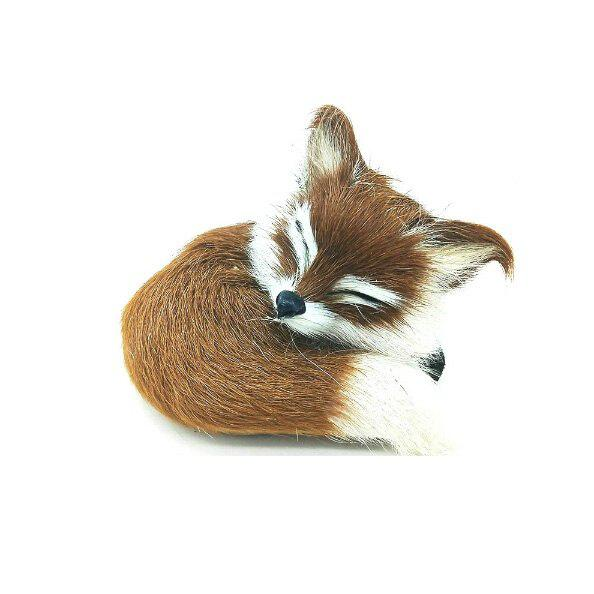Cute Simulation Fox Plush Toys Kids Appease Doll Gifts YELLOW
