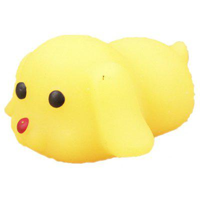 Cute Mini Cartoon Pekingese TPR Animal Squishy Toy