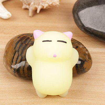 Cute Mini Sleeping Cat TPR Animal Squishy ToySquishy toys<br>Cute Mini Sleeping Cat TPR Animal Squishy Toy<br><br>Color: Yellow<br>Materials: TPR<br>Package Content: 1 x Squishy Toy<br>Package Dimension: 5.00 x 6.00 x 5.00 cm / 1.97 x 2.36 x 1.97 inches<br>Package Weights: 35g<br>Pattern Type: Animal<br>Product Dimension: 4.00 x 5.30 x 3.00 cm / 1.57 x 2.09 x 1.18 inches<br>Product Weights: 21g<br>Products Type: Squishy Toy<br>Use: Home Decoration, Art &amp; Collectible