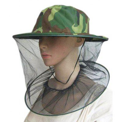 Polyester Mesh Anti-mosquito Head Cover Hat Bee Mask