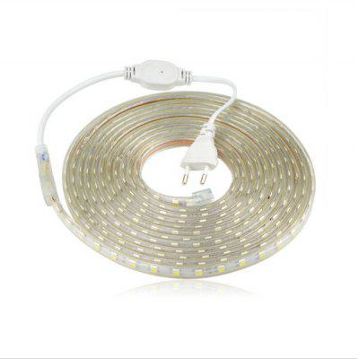 220V 5050 LED Waterproof Anti-electric Light Strip