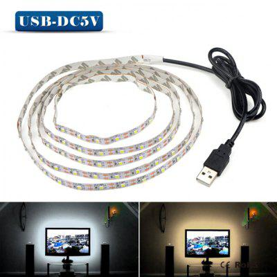 5V 3528 LED Light Strip for Computer ChassisLED Strips<br>5V 3528 LED Light Strip for Computer Chassis<br><br>Connector Type: USB<br>Features: Low Power Consumption<br>Input Voltage: DC 5V<br>LED Type: SMD-3528<br>Length: 5M<br>Material: FPC<br>Optional Light Color: Warm White,White<br>Package Contents: 1 x LED Strip<br>Package size (L x W x H): 21.00 x 21.00 x 2.00 cm / 8.27 x 8.27 x 0.79 inches<br>Package weight: 0.1100 kg<br>Product size (L x W x H): 100.00 x 0.10 x 1.00 cm / 39.37 x 0.04 x 0.39 inches<br>Product weight: 0.0300 kg<br>Rated Power (W): 5W<br>Type: LED Strip<br>Waterproof: No