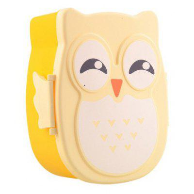 Lovely Owl Style Lunch Box for Kids Students