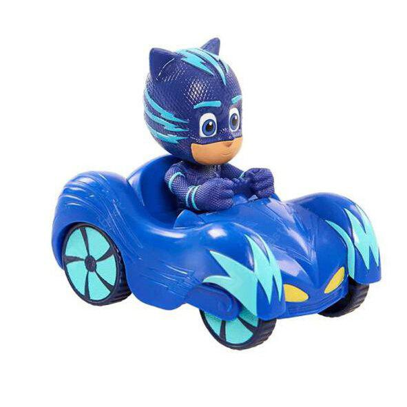 3 Types Masked Hero Cartoon Car Pocket Scooter Toy