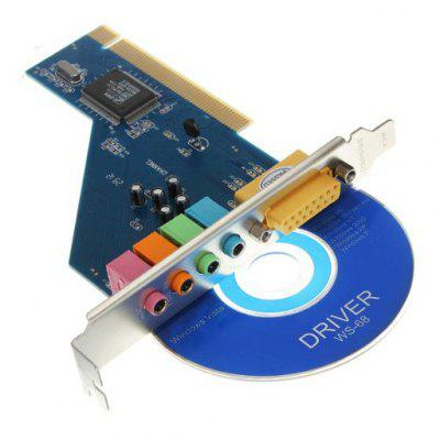 CMI8738 PCI Desktop Built-in Sound Card Supporting WIN7 / 8 / 10