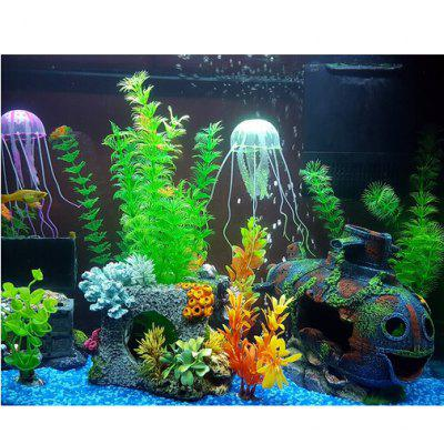 18cm LED SMD 5050 Aquarium Fish Tank Submersible LightNovelty lighting<br>18cm LED SMD 5050 Aquarium Fish Tank Submersible Light<br><br>Material: Plastic<br>Package Contents: 1 x Fish Tank Submersible Light Set<br>Package size (L x W x H): 3.00 x 2.00 x 19.00 cm / 1.18 x 0.79 x 7.48 inches<br>Package weight: 0.2300 kg<br>Product size (L x W x H): 2.00 x 2.00 x 18.00 cm / 0.79 x 0.79 x 7.09 inches<br>Suitable for: Exhibition, Home