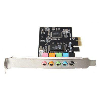 PCIE 5.1 Channel 3D Audio Digital Sound Card