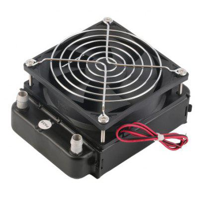 90mm Water Cooling CPU Cooler Row Heat Radiator + Fan