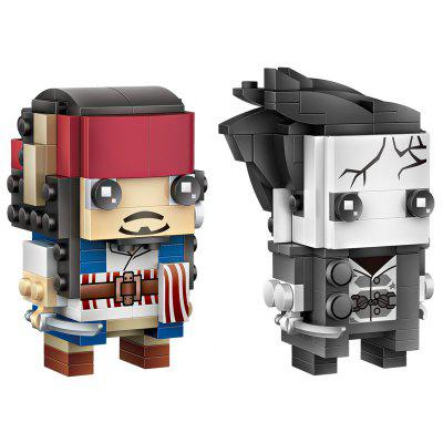 Loz 259pcs Captain Jack and Salazar Toy